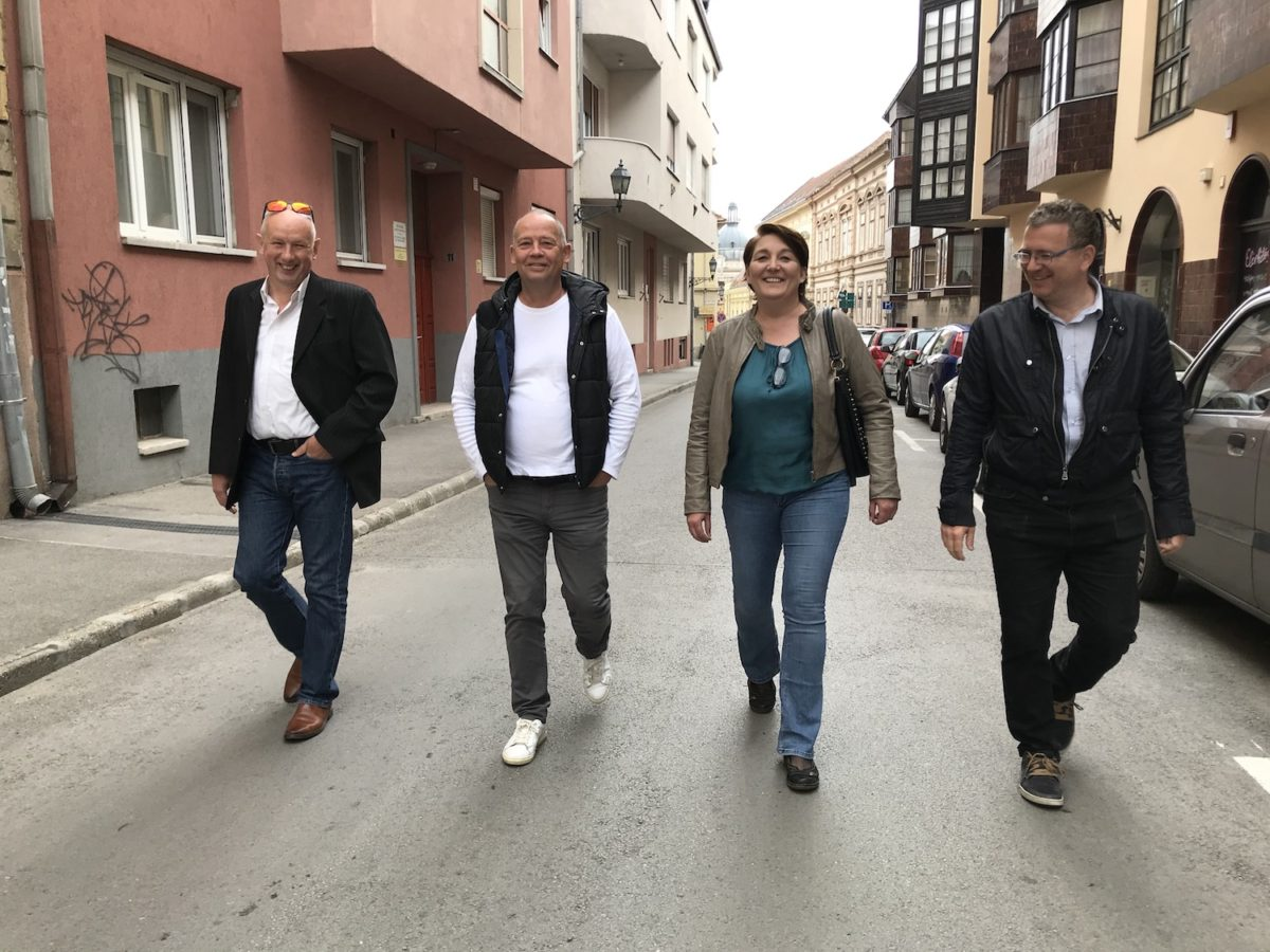 Országjárás ISZOM Pécs