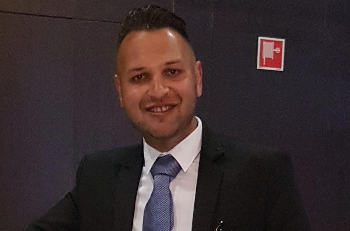 Rácz Szilárd a budapesti 9-es választókerület képviselőjelöltje